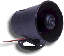 Weatherproof External / Internal Siren. Ideal as a deterrent when an intruder has been detected. Would also give and extra audible alert for neighbours or security staff.